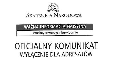 koperta NEW Skarbnica Narodowa